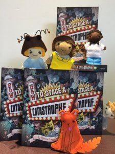 book with puppets